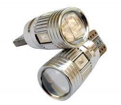 لامپ T10 لنزدار نارنجي Claw