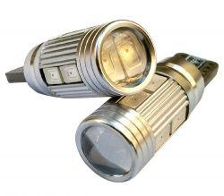 لامپ T10 لنزدار قرمز Claw